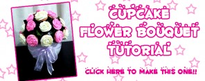 Cupcake Flower Bouquet Feature