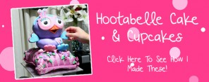 Hootabelle Cake and Cupcake Feature