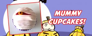 Mummy Cupcake Feature