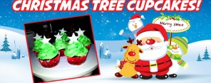 Christmas Tree Cupcakes Feature