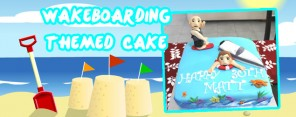 Wakeboarding Themed Cake Feature