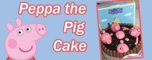 Peppa The Pig Cake Feature